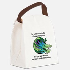 Dragon Crunchies Canvas Lunch Bag