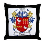 Finnie Coat of Arms Throw Pillow