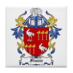 Finnie Coat of Arms Tile Coaster