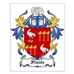 Finnie Coat of Arms Small Poster
