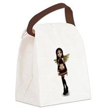 Dominique Wood Elf Canvas Lunch Bag