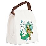 Anime Merman Canvas Lunch Bag