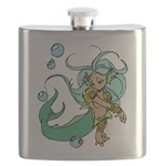Anime Merman Flask