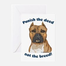Staffy Anti-BSL Greeting Cards (Pk of 10)