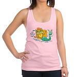 Kitty Mermaid Racerback Tank Top