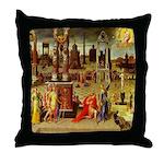 Augustus & The Sibyl Throw Pillow