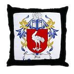 Fin Coat of Arms Throw Pillow
