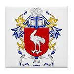 Fin Coat of Arms Tile Coaster