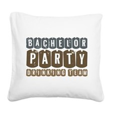 Bachelor Party Drinking Team.png Square Canvas Pil