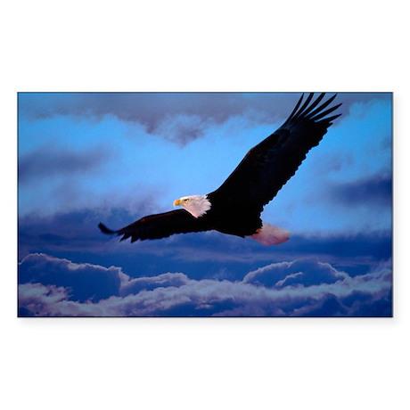 eagle Sticker (Rectangle)