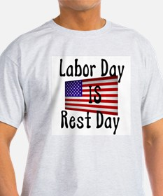 Rest Day Ash Grey T-Shirt