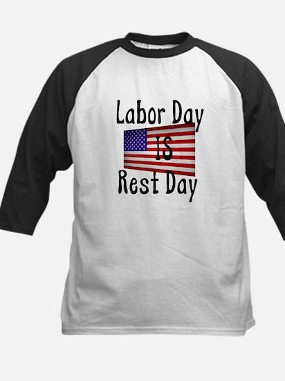 Rest Day Kids Baseball Jersey