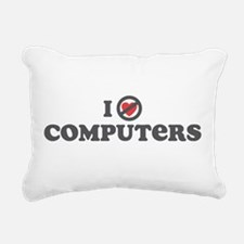 I Dont Heart computers.png Rectangular Canvas Pill
