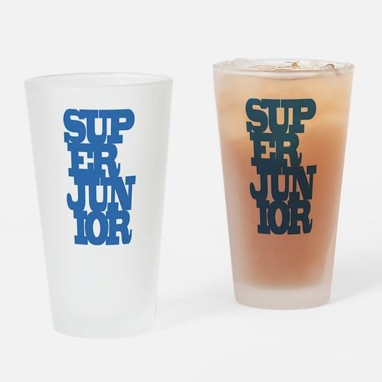 Super Junior Drinking Glass