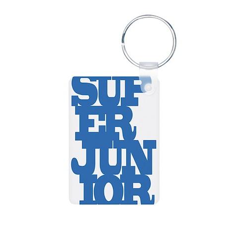 Super Junior Aluminum Photo Keychain