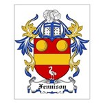 Fennison Coat of Arms Small Poster