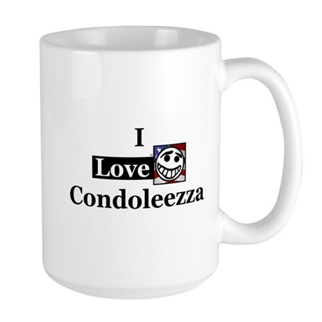 I Love Condoleezza Large Mug