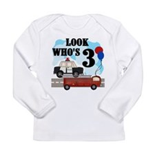 Everyday Heroes 3rd Birthday Long Sleeve T-Shirt