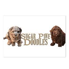 Sugar Pine Doodles Postcards (Package of 8)