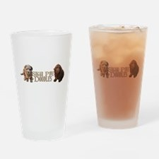Sugar Pine Doodles Drinking Glass