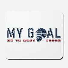 My Goal, Lacrosse Goalie Mousepad