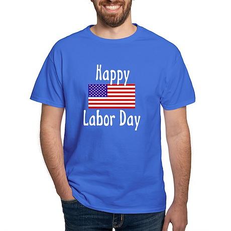 Happy Labor Day Black T-Shirt