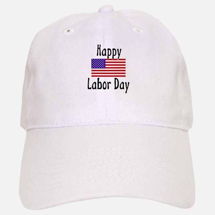 Happy Labor Day Baseball Baseball Cap