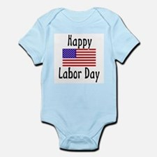 Happy Labor Day Infant Creeper