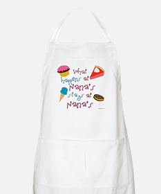 """What happens at Nana's stays at Nana's"" BBQ Apron"