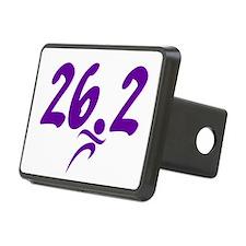 Purple 26.2 marathon Hitch Cover