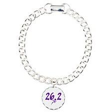 Purple 26.2 marathon Bracelet