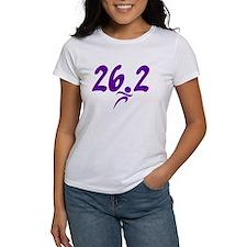 Purple 26.2 marathon Tee