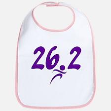 Purple 26.2 marathon Bib