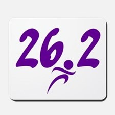 Purple 26.2 marathon Mousepad
