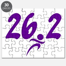 Purple 26.2 marathon Puzzle
