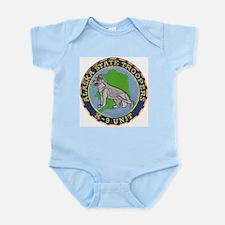 Alaska Trooper K9 Infant Creeper