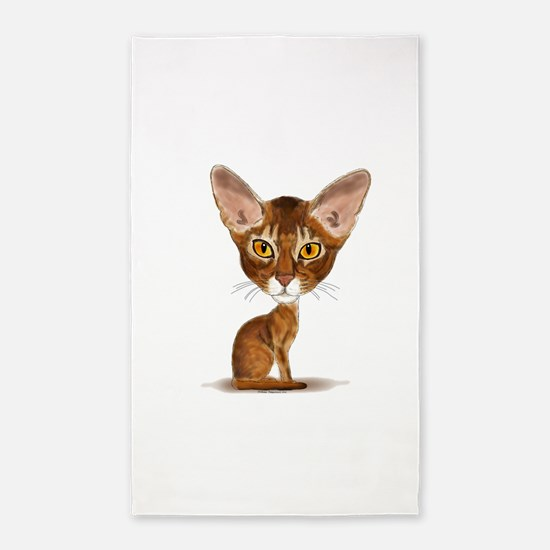 Aby Caricature 3'x5' Area Rug