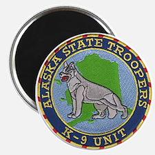 """Alaska Trooper K9 2.25"""" Magnet (100 pack)"""