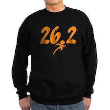 Orange 26.2 marathon Sweatshirt