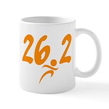 Orange 26.2 marathon Mug
