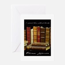 books 02 5.5 7.5 Greeting Cards