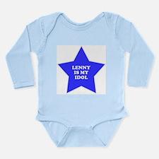 star-lenny.png Long Sleeve Infant Bodysuit