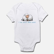 Jesus Little Lamb Boys Onesie