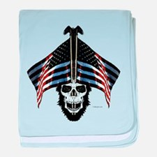 American Patriot baby blanket