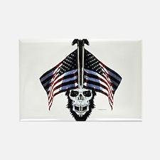American Patriot Rectangle Magnet