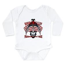 Honor the fallen Long Sleeve Infant Bodysuit