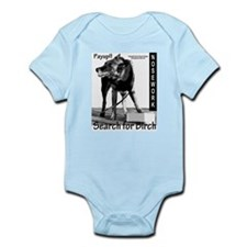 Nosework search for birch Malinois Infant Bodysuit