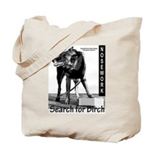 Nosework search for birch Malinois Tote Bag