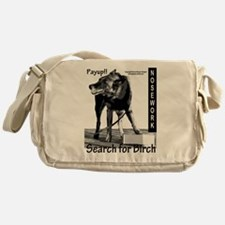 Nosework search for birch Malinois Messenger Bag