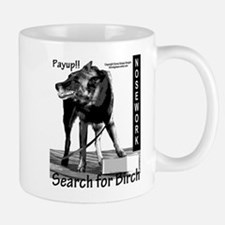 Nosework search for birch Malinois Mug